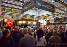 Busy at the Turkish Export Association.