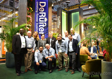 The team of De Ruiter Innovations, in one of the largest booth of the show.