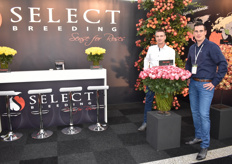 "The brothers from Select Breeding, Micheal and Dennis de Geus. Standing with their ""No Limit""."