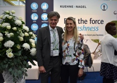 Harry vd Scheur and Jeanne Mari represented Khuene Nagel at the Fair.