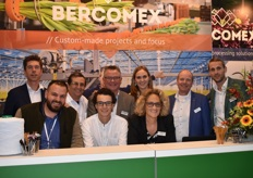 The entire team of Bercomex, together with their agents from Ecuador and Colombia.