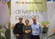 Johannes, Simone and Eric from Royal van Zanten. Al of them, Driven by passion.