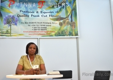 Ruth Thuo of Phinna Flowers Limited
