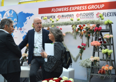 Busy at Flowers Express Group