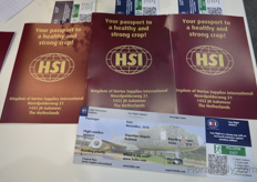 HSI made and distributed passports all over the trade fair