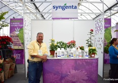 Next to the stand at the general exhibition area, Syngenta also had a stand in the floriculture pavilion.