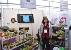 Hada Celesta Montes ROmero of Successmex, another Mexican succulent grower.
