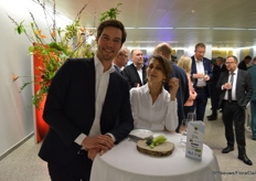 Job Knook of the Greentech and Natascha Solano of Kuehne Nagel