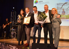 Gold in the category young plants, Gediflora, Belgium (with Angie Duffree, FCI)