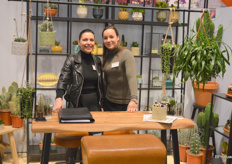 Anke van Hemert and Suzanne Edelman of Edelcactus. De Edelman family has long grown cacti (currently the fourth generation is in charge), a lucrative business in recent years.