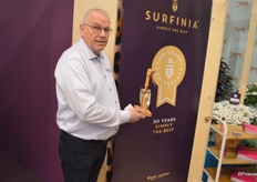 Nice to know: the Surfinia, an MNP variety, celebrates its thirtieth birthday. The first license holders were presented with a golden spade.