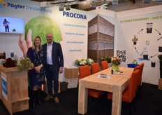 Loes vd Toolen and Jurgen Vermeulen showed their new Procona concept of De Pagter Innovations