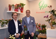 Marcel Hoogendoorn and Marco vd Goest presenting their Diamond Collection, and we also see their mini Anthurium in a nice gift box