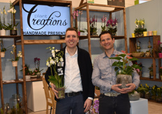 Jeroen v. Weerdenburg with nursery Aphrodite and Matthijs vd Knaap, active in sales with both Aphrodite as well as Plant Creations.