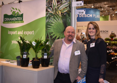 Piet Molenaar & Christel vd Helm with Ornamentex counted many visitors to their booth.
