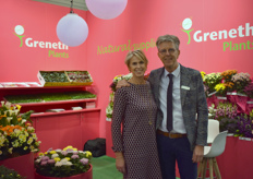 Diane Schrama & Hans Straathof with Straathof Grenethplants, youngplant supplier. Straathof focusses on Europe, Grenethplants on the Middle East & Russia.