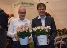 "Anton and Thomas of Armada together with the new ""Beauty Elegant Pink"", available from week 22."