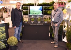Martin de Vos and Didier Hermans presented a buxus variety resistent to the infamous buxus moth.