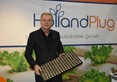 Edward v. Wonderen of Holland Plug, a young company with a biological solution for the production of young plants.