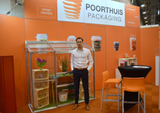 For the first time ever Roeland Olde Kalter of Poorthuis Packaging was showing different kinds of packaging, especially for fresh produce products, at the IPM