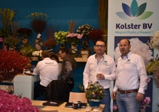Robert Jan Kolster and Wouter den Hollander from Kolster bv proudly showed everyone their wide range of magical flower and plants.