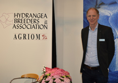 Jan ten Brink from the Hydrangea Breeders Assosiation was loyal as always being present on the IPM.