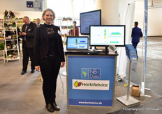 Charlotte Holde of HortiAdvice, a Danish advising company for greenhouse growers and nurseries worldwide.