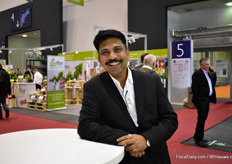 Mohan Choudhery of Black Tulip-Kenya also visited the show.