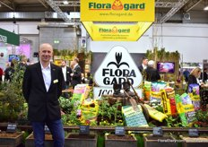 Thomas Bter of Floragard. This year, the company is celebrating its 100th anniversary.