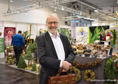 Knud Elmer Jrgensen of Hassoe, a Deense packaging company, visisted the show.