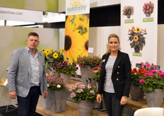 Apartus introduced the Sunfinity in Essen. The sunflower, bred by Syngenta, will be exclusively grown and supplied by Apartus in the Netherlands.