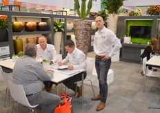 Nieuwkoop presented a new brand to the market: Baq. The brand, Danny Gerritsen and colleagues explained, include the plant containers imported by Nieuwkoop.