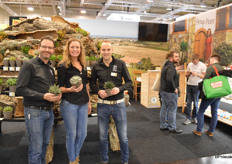 Jacco Huibers, Nicole van Langen and Rick Mulder, the sales team of Amigo Plant – they could use a bit more help around the nursery!