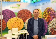 But Gediflora weren't the only ones! Jolu Plant, Luc Pieters' company, is a known player in Belgium and abroad when it comes to garden chrysanthemums.