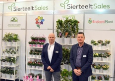 The trade show tigers Cees Bronkhorst and Ronald Lamers of SierteeltSales, who represent a large number of growers and thus can offer a wide range of products.