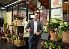 Jos Verboom of Kwekerij Verboom grows mainly Hellebore and supplies them to several countries in Europe. Germany is an important country to this company.
