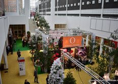 The booth of Dmmen Orange right in the heart of Christmasworld.