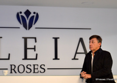 Luis Corella, owner executive president master mind of Aleia Roses. Only the name he did not come up with himself. Together with the logo, it is a proposal by a marketing bureau. Aleia is a non-existing girls name, having a kind and sweet tone to it, besides being easy to pronounce by people from all over the world. The logo, on the other hand, is both a crown, a diamond and a rose (and e heart?).