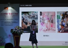 Presentation at the China 'Florist Plus' Conference.