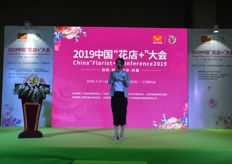 Opening of the China 'Florist Plus' Conference. Over 20,000 florists in China received an invitation to the co-located 2019 China 'Florist Plus' Conference, where they learned how to take full advantage of holiday sales booms.
