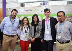 "The team of Logiztik Alliance Group. This Ecuadorian freight forwarder started in 2014 and they now have offices for freight forwarding in Quito, Guayaquil, Bogota, Medellin, Miami, Amsterdam and Shanghai. ""For the Chinese market, we decided to open our office with own staff to give the Chinese customers the best service. We believe that the Chinese flower business will continue to increase. """