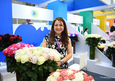 Liliana Rodriguez of Circasia sees also sees a high demand for new and dyed products. They are currently supplying the Chinese market mostly on event basis, but they are eager to supply them on a more regular basis.