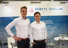 Dave Debets and Tristan Groenendaal of Debets Schalke checking out the opportunities regarding greenhouse construction and turn-key projects in China.