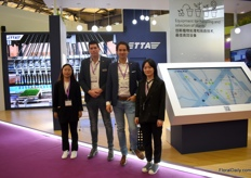 "The team of TTA presenting a in 3D model of their automation line that is currently being build at Shanghai Yuanyi Seedlings brand new propagation company.Peter Rietveld, Sales Manager Asia with TTA: ""Careful calculations show that annually, 800 million plants can be propagated."" for more information see the following link: https://www.floraldaily.com/article/9096089/big-chinese-project-to-propagate-flowers-and-plants/"