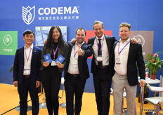 The team of Codema. They are active on the Chinese market for about 8 years now and they will have their own office in Beijing in September. More on this later on FloralDaily.com.
