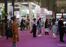 Exhibition floor.