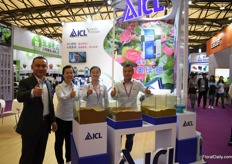The team of ICL China. This fertilizer company has been working in China for 30 years. Over the last year, they have seen an increase in sales of 30 percent and they are confident in the future.