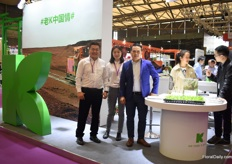 Franck Xu, Zhoucen Feng and Kelvin Tan of Klasman Deilman. After selling through agents for several years, they decided to establish a Chinese subsidiary in 2013. The company, with the headquarter in Germany is celebrating their 100th anniversary this year.
