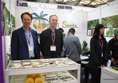 Brothers Arthur and Anton Spruit of Tropical Seed. They supply tropical seeds and nursery Aardam supplies the plants. They are present on the Chinese market for about 5 years now.