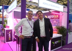 Denis Dullemans of Agrolux with Arjan Pauw of Gavita.